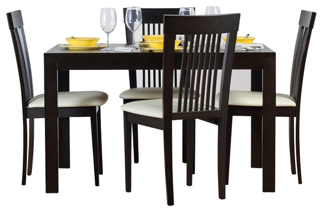 Westport Dining Table Set with Hartford Dining Chairs in  : transitional dining sets from www.houzz.com size 640 x 422 jpeg 55kB