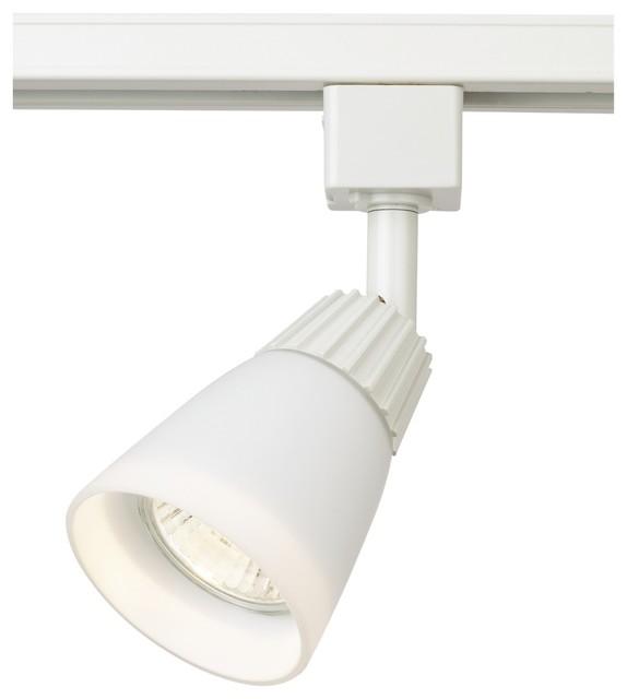 White Pendant Track Lighting: WAC White Glass Track Bullet For Lightolier Track Systems