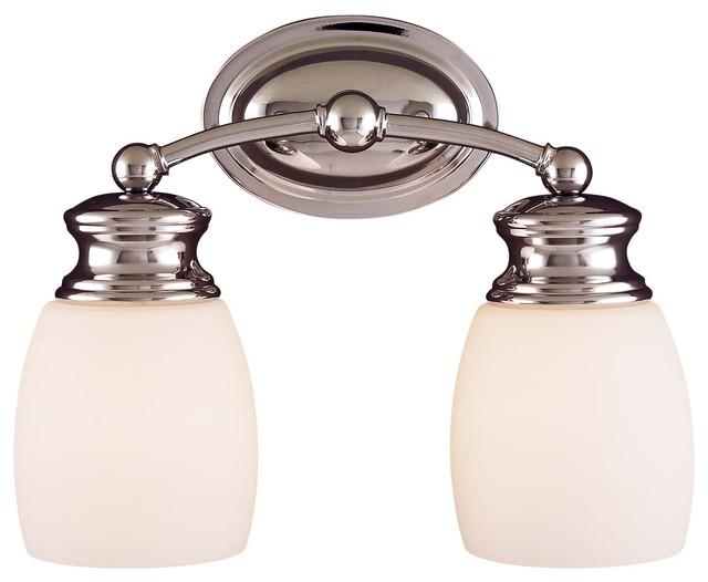 Bathroom Vanity Light Bar : Elise 2 Light Bath Bar - Modern - Bathroom Vanity Lighting - by ...