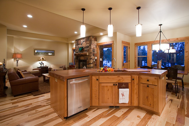 western ranch traditional kitchen portland by home interior tech seattle portland