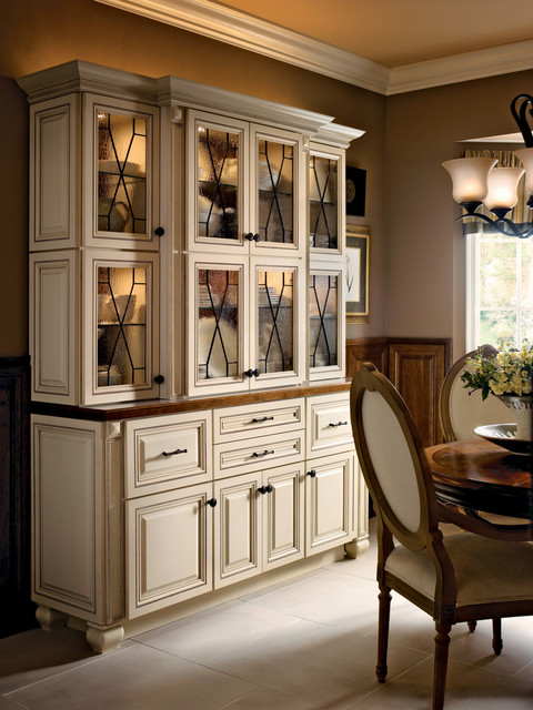 Classic Traditional Kitchen Cabinets Style - Traditional - columbus - by Lily Ann Cabinets