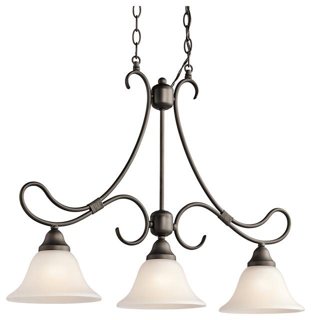 Kichler Braelyn Linear Chandelier Light Olde Bronze