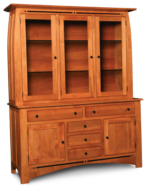 Aspen Dining Hutch - Contemporary - China Cabinets And Hutches - dallas - by Woodbine Furniture