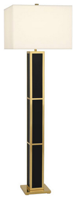 Jonathan adler barcelona floor lamp black contemporary for Barcelona 3 light floor lamp