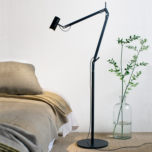 polo floor lamp modern floor lamps by ylighting. Black Bedroom Furniture Sets. Home Design Ideas