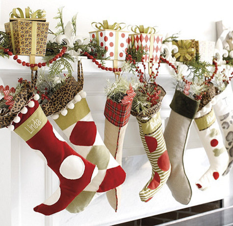 Christmas stockings contemporary christmas stockings and holders