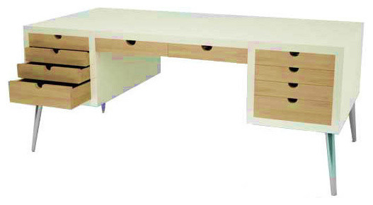 Office Teak Furniture Modern Desks And Hutches Other By Jfurniture Indonesia