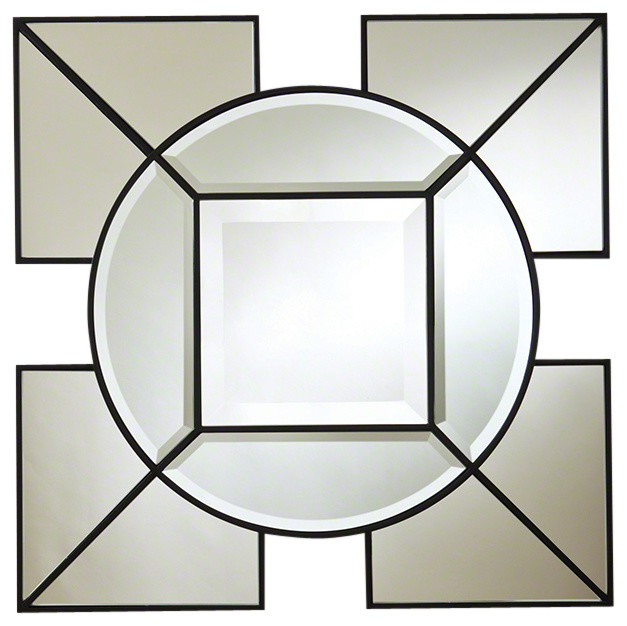 Global Views Arabesque Square Mirror