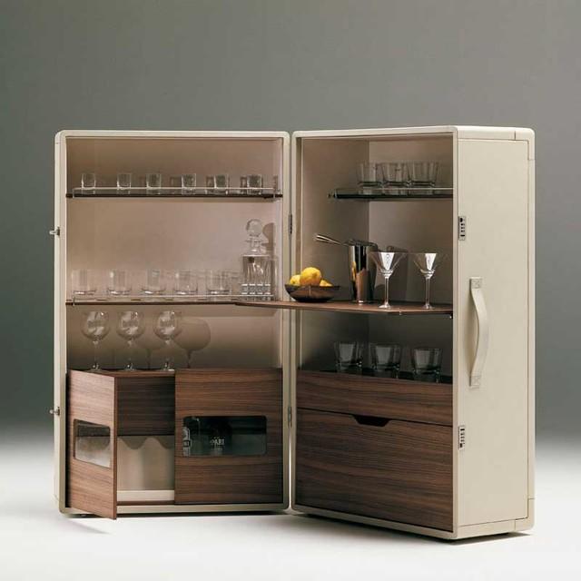 Poltrona Frau Isidoro Bar Cabinet - Modern - Wine And Bar Cabinets - by Switch Modern