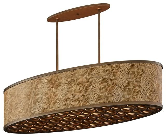 corbett lighting 135 56 mambo 6 light island lights in. Black Bedroom Furniture Sets. Home Design Ideas