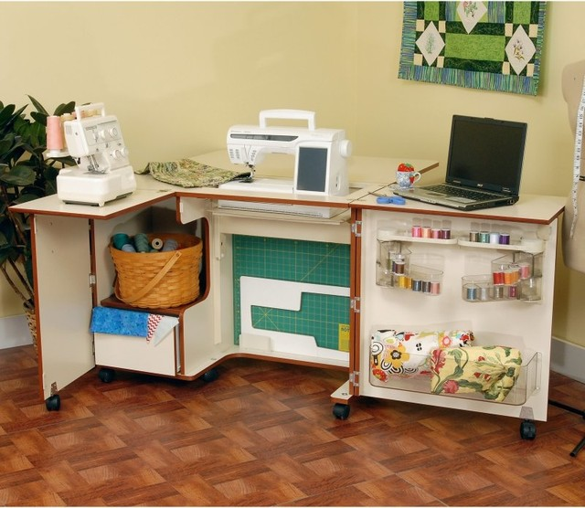 Kangaroo Kabinets Wallaby Sewing Cabinet with 3 position ...