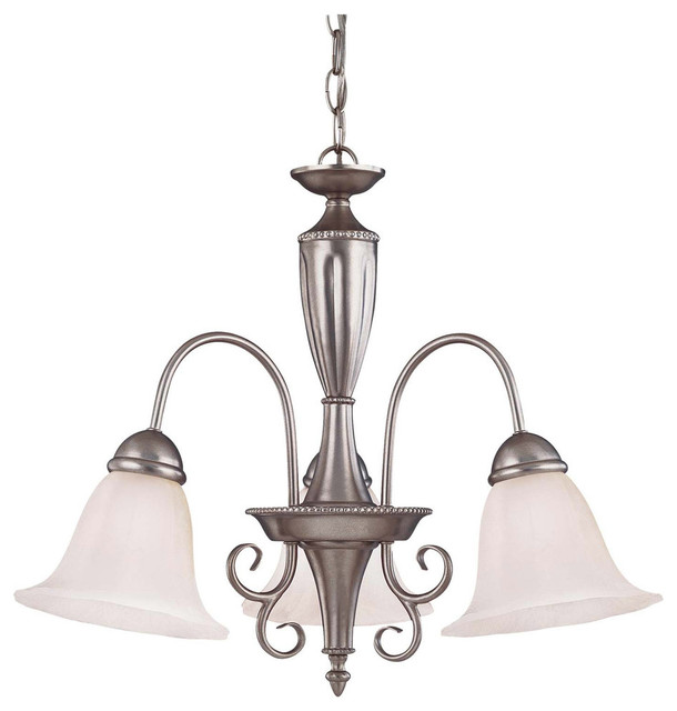 Savoy House Spirit Three Light Chandelier Pewter Mediterranean Chandeliers By Lighting And Locks