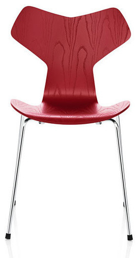Jacobsen grand prix chair red modern dining chairs los angeles by d - Chaise grand prix jacobsen ...