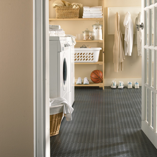 Utility tile laundry room flooring toronto by multy home - Laundry room flooring ideas ...