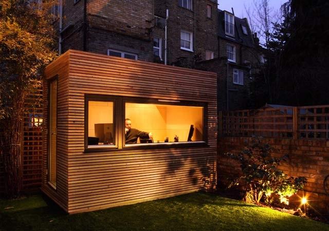 Contemporary Backyard Studios :  exterior gardening irrigation garden structures garden rooms studios