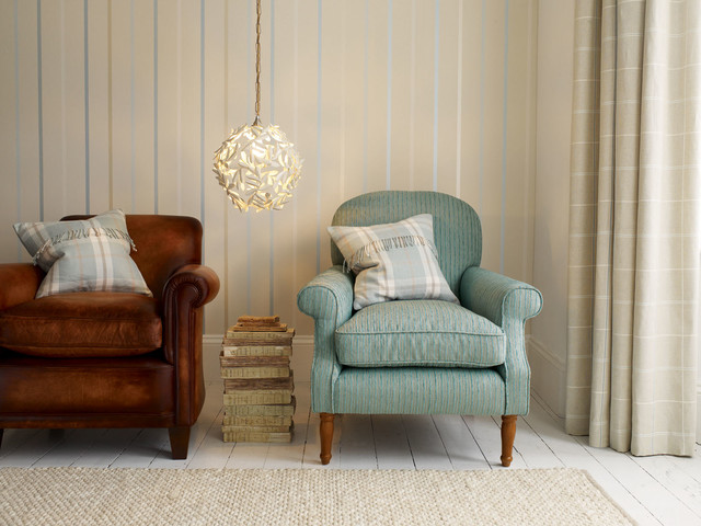 Laura ashley traditional living room other by for Eau de nil bedroom ideas