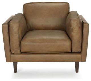 brooklyn salon fauteuil en cuir vachette vintage r tro fauteuil par alin a mobilier d co. Black Bedroom Furniture Sets. Home Design Ideas