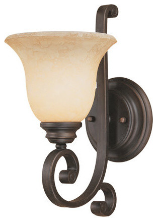 Traditional Indoor Wall Sconces : Millennium Lighting 1221 Oxford 1 Light Indoor Wall Sconce - Traditional - Wall Lighting - by ...