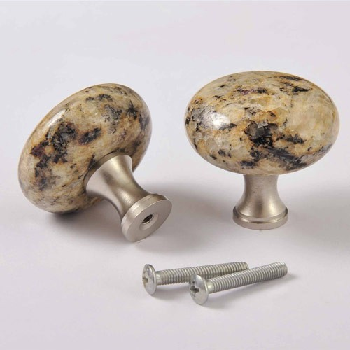 Kitchen Cabinet Granite Knob Pull Handles - Modern - Cabinet And Drawer Knobs - by Homedecor