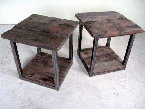 steel end table 1