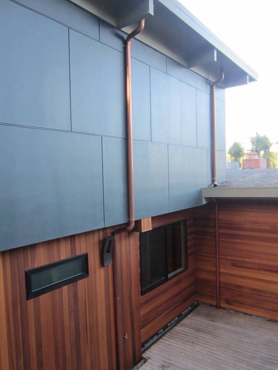WIndow Wall with James Hardie Siding Exterior Design