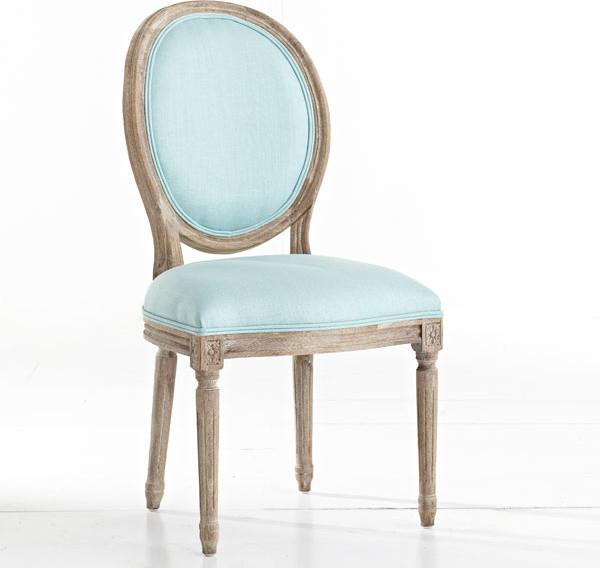 louis xvi dining chair aqua klassisch esszimmerst hle dallas von wisteria. Black Bedroom Furniture Sets. Home Design Ideas
