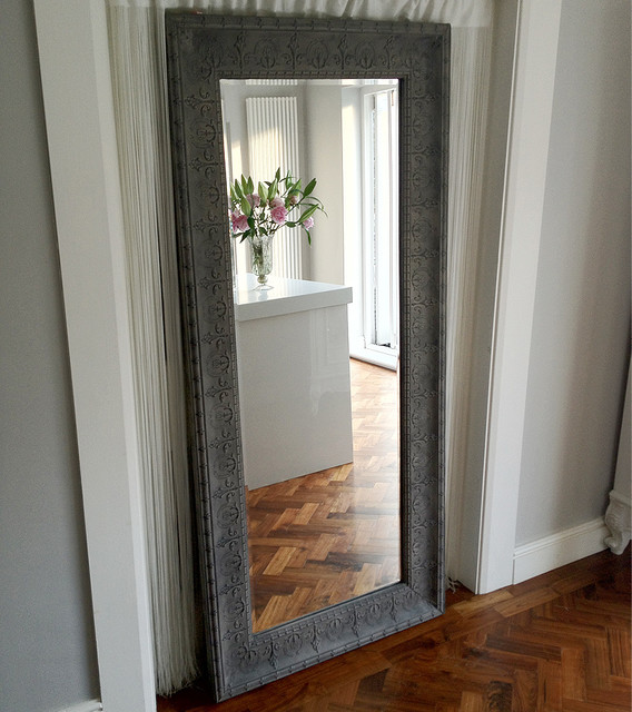 Boho beauty full length mirror traditional for Gray full length mirror