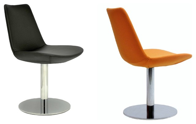 Eiffel round swivel chair by sohoconcept contemporary