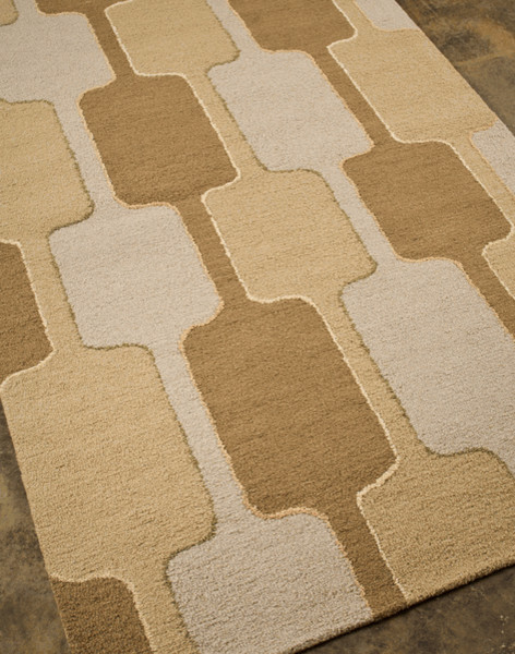 Tv04 hand tufted traverse rugs by for Modern rugs los angeles
