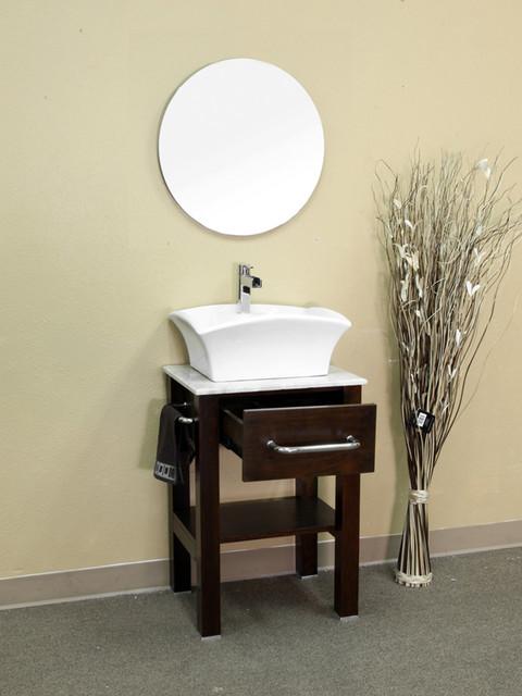 Clearwater Single Vessel Sink Vanity Modern Bathroom Vanity Units Sink Cabinets