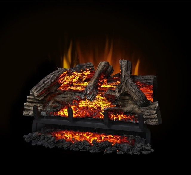 Napoleon woodland electric fireplace log set nefi24h - Contemporary electric fireplace insert accessories ...