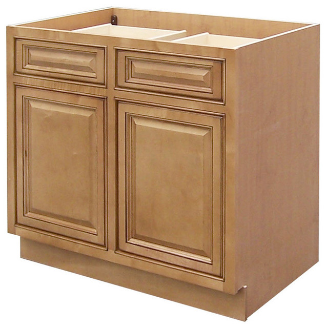 Sagehill Designs Cgb36 Collingwood Double Door Base Cabinet Transitional Kitchen Cabinets