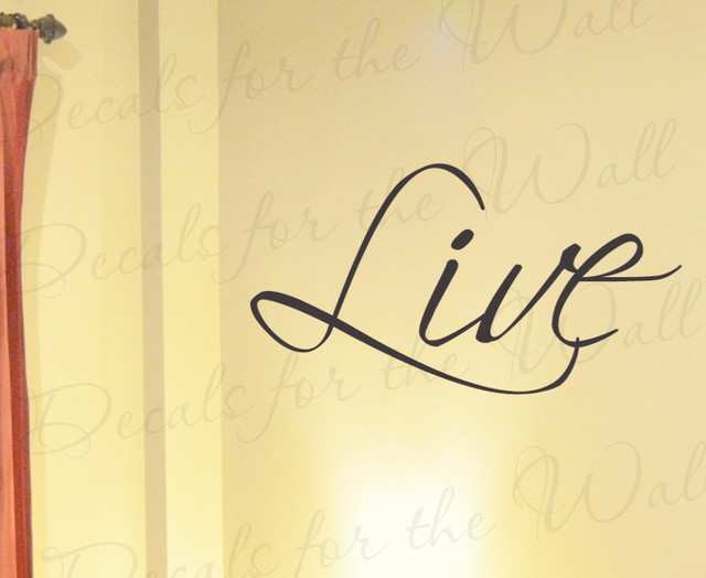 Wall Art Decal Vinyl Sticker Quote Lettering Saying Large ...