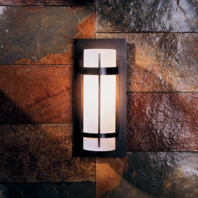 Banded 12 Outdoor Wall Sconce - Modern - Outdoor Wall Lights And Sconces - by Lightology