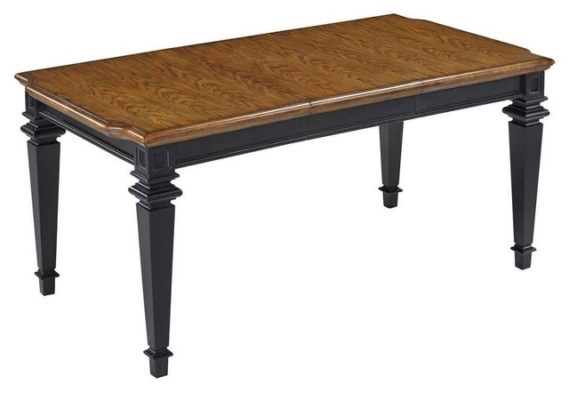 distressed oak dining table
