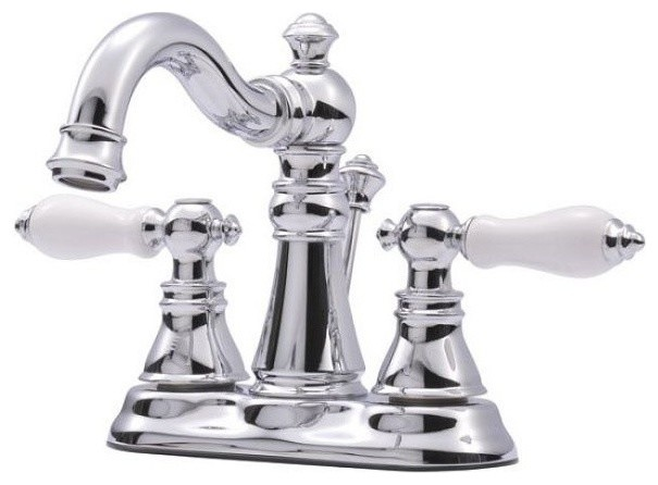American Patriot Two Handle 4 Centerset Lavatory Faucet Traditional Bathroom Sink Taps By