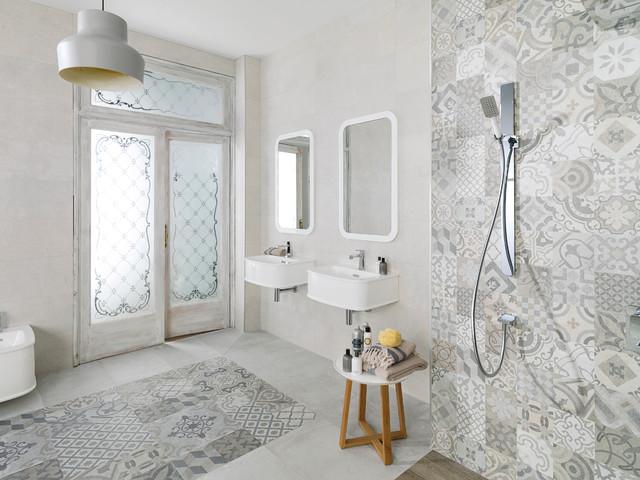 Dover classique chic salle de bain par porcelanosa - Salle de bain classique chic ...