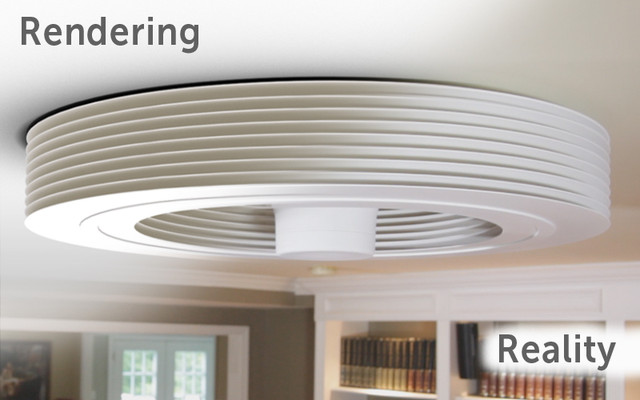 Exhale Fans - First truly bladeless ceiling fan ...