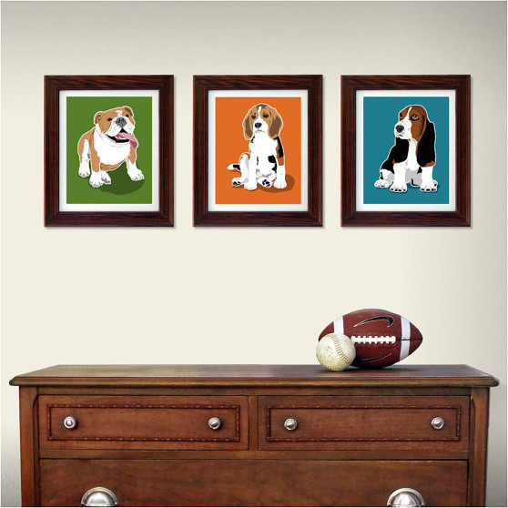 Dog wall art buy dog wall decor from bed bath beyond with best friends forever dog wall art - Modern kids wall decor ...