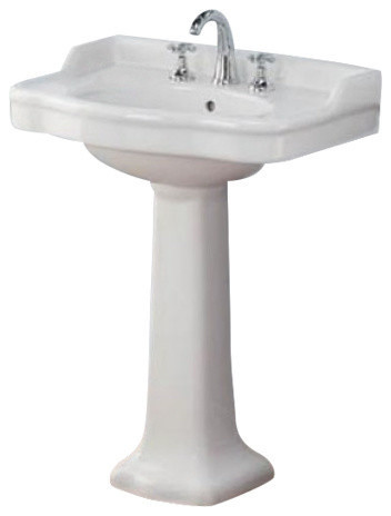 Antique Pedestal Sink - Traditional - Bathroom Sinks - by Cheviot ...