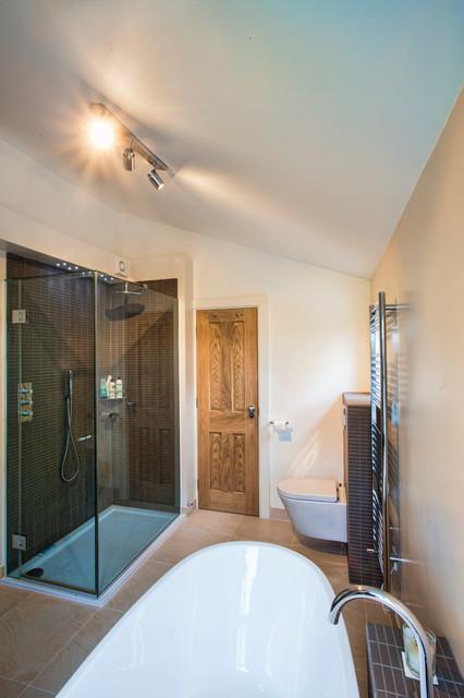Queens Park Estate Railway Cottage Renovation Contemporary Bathroom London By Artia