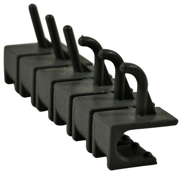 Hooks Fiberglass/Polymer Hook Strip of 6 Utility Hooks - Traditional ...