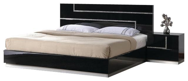 Barcelona Collection  Piece Bedroom Set Modern Bedroom Furniture