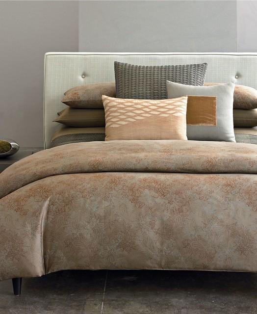 Calvin klein home bedding oxidized paisley queen duvet Calvin klein bedding