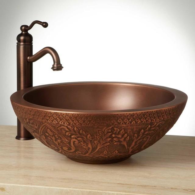 Traditional Bathroom Sink : 18
