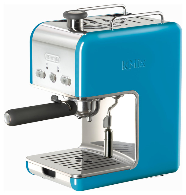 DeLonghi kMix Blue Pump Espresso Machine - Contemporary - Coffee And Tea Makers - by Overstock.com