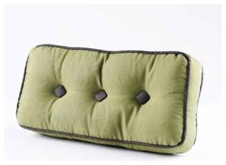 Small Green Decorative Pillow : Quilted Green Pillow, Small - Traditional - Decorative Pillows - by Kirkland s