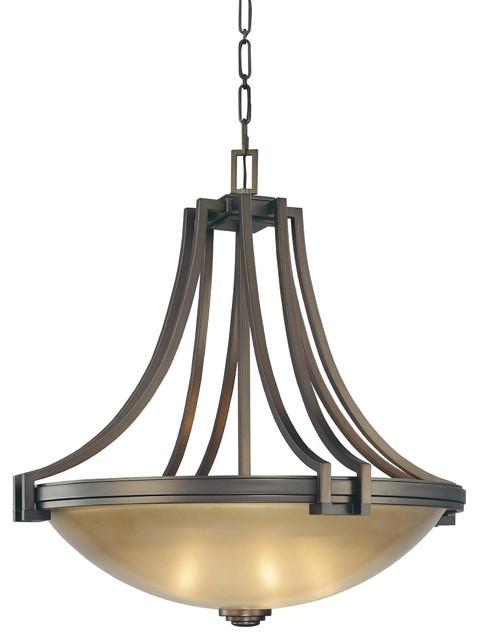 Metropolitan N6951 267b Underscore 4 Light Large Pendant