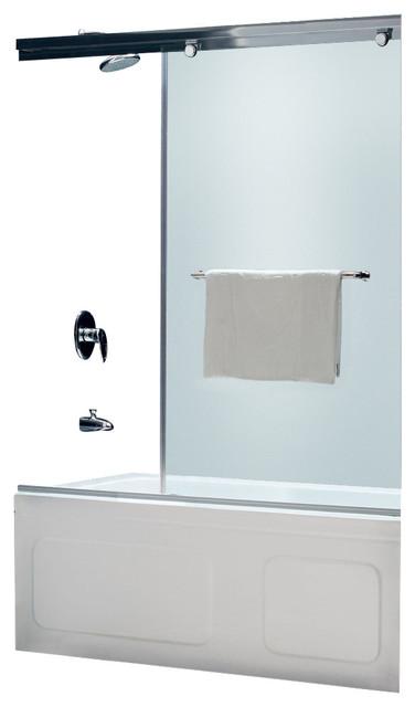 Torero frameless sliding tub door 56 60 w x 58 h - Porte per docce ...