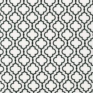 Tiles In White Mediterranean Fabric
